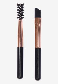 Makeup Revolution - REVOLUTION GLOSSY BROW KIT - Eyebrow powder - medium - 1