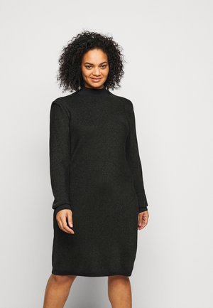 VMALYSSA HIGHNECK DRESS - Jumper dress - black