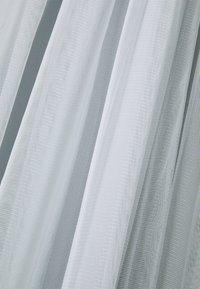 Maya Deluxe - STRIPE EMBELLISHED LONG SLEEVE DRESS - Abito da sera - glacier blue - 7