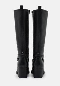 Anna Field - LEATHER - Vysoká obuv - black - 3