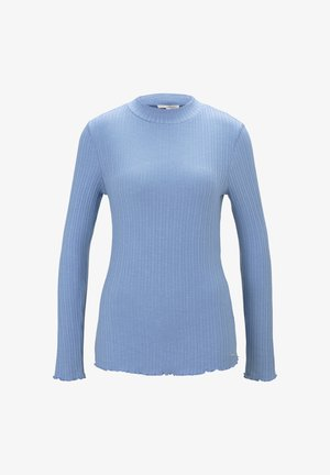 Long sleeved top - summer blue