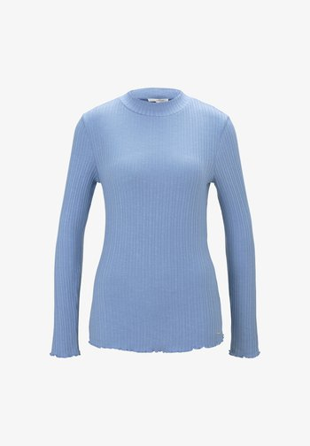 Long sleeved top - summer blue