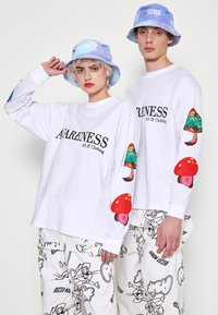 AS IF Clothing - PARANORMAL LONG TEE UNISEX - Longsleeve - white - 0