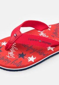 Tommy Hilfiger - T-bar sandals - red - 5