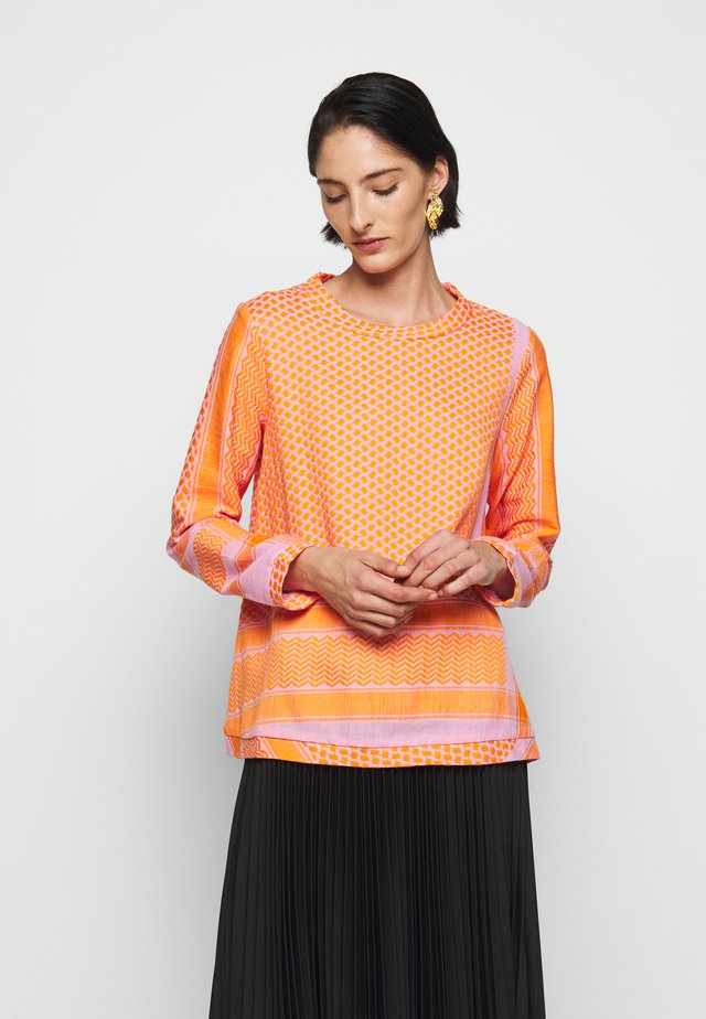 LONG SLEEVES - Blouse - tangerine