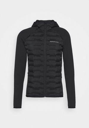 ARGON HYBRID HOOD - Outdoor jacket - black