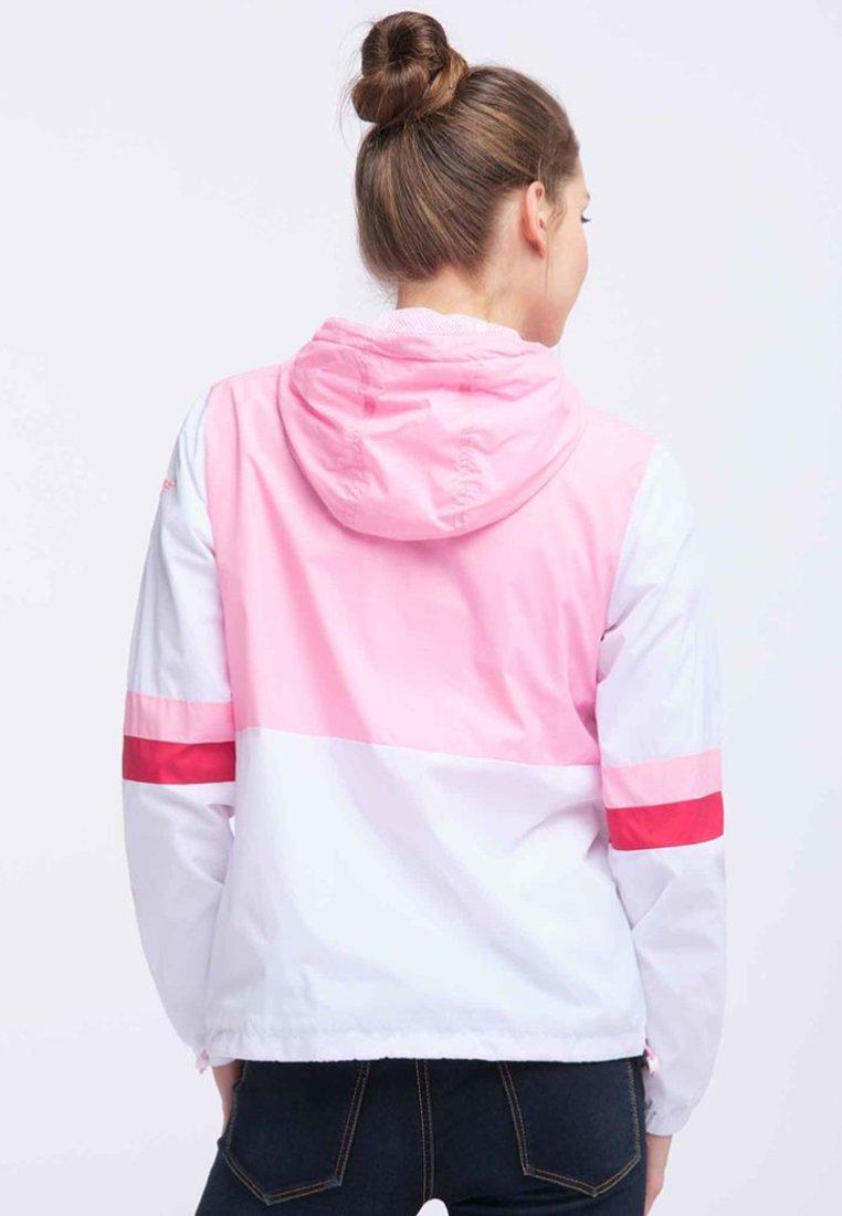 myMo Windbreaker white pink/rosa