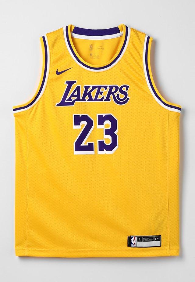 NBA LA LAKERS LEBON JAMES ICON SWINGMAN - Klubové oblečení - amarillo