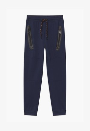 TEEN BOYS - Tracksuit bottoms - navy blazer