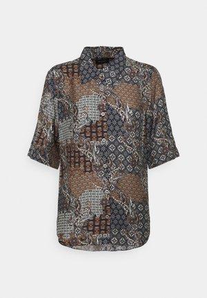 LATIA - Button-down blouse - black