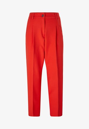 Trousers - burning red