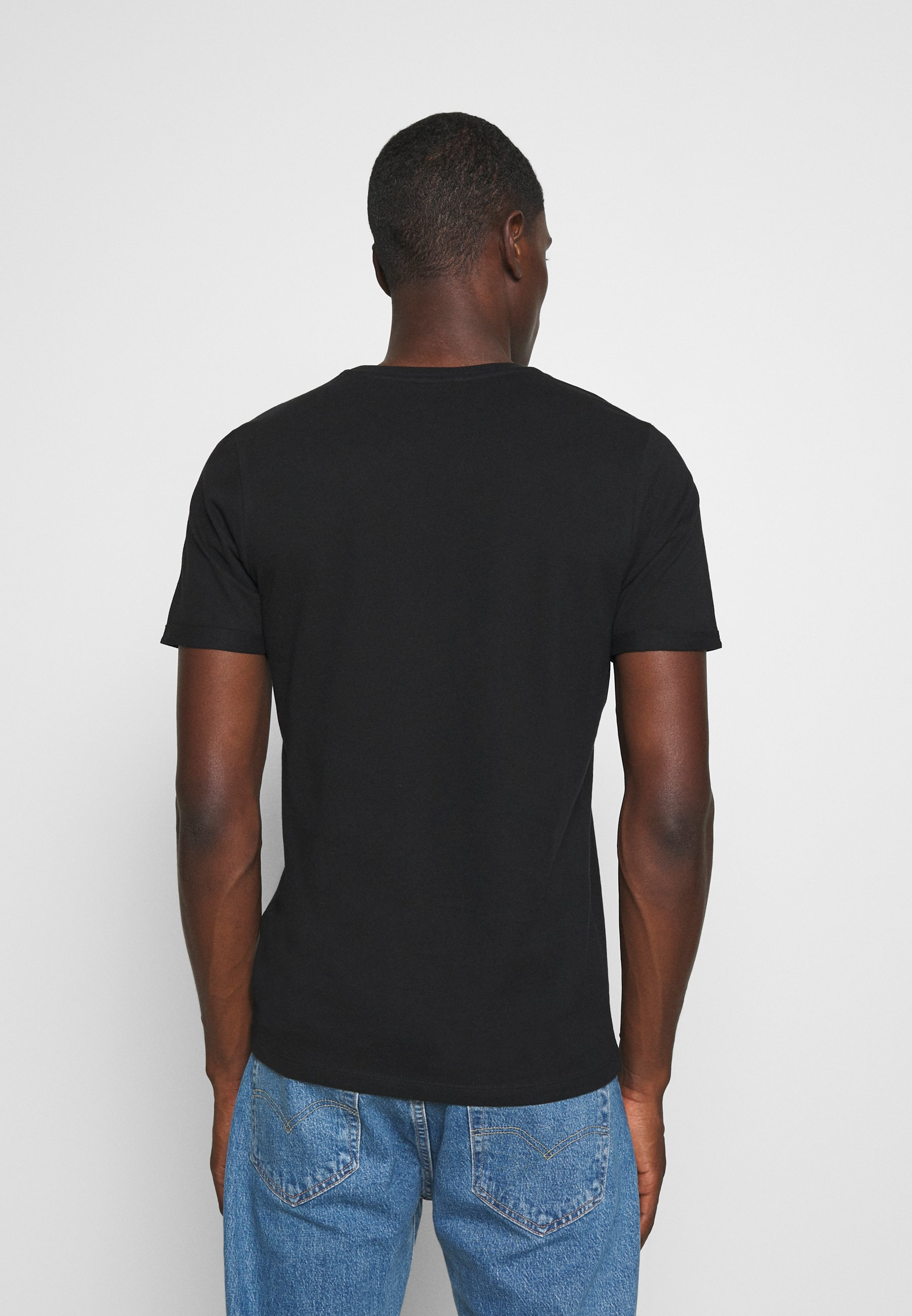 Jack & Jones PREMIUM JPRBLAHARDY TEE CREW NECK - Basic T-shirt - black TSDwI