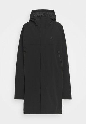 WARMWELL COAT - Outdoorjas - black