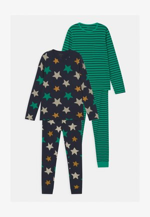 NKMNIGHTSET STRIPE 2 PACK - Pyjama set - dark sapphire