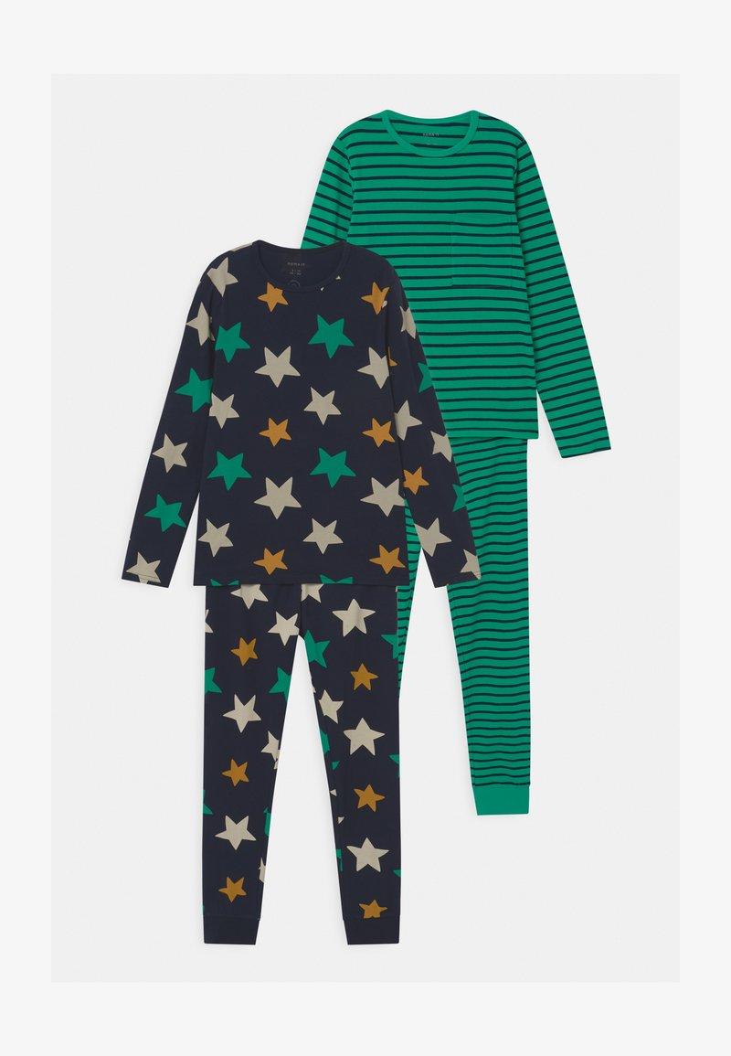 Name it - NKMNIGHTSET STRIPE 2 PACK - Pyjama set - dark sapphire
