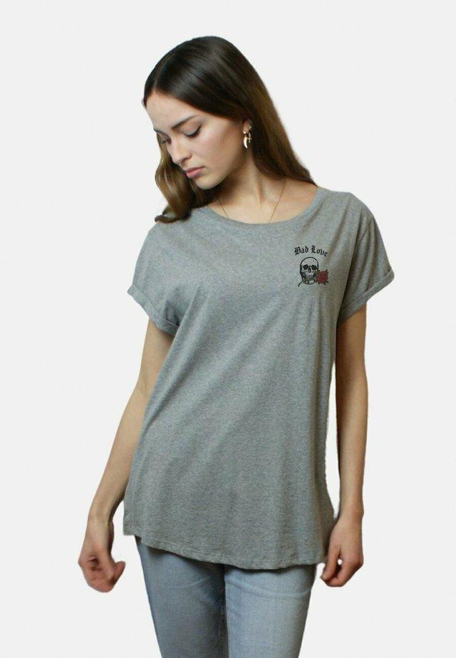 LOVE - T-shirt basique - mottled grey