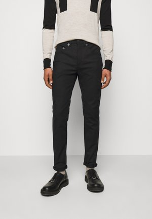 SUPER REGULAR RISE  - Skinny džíny - black