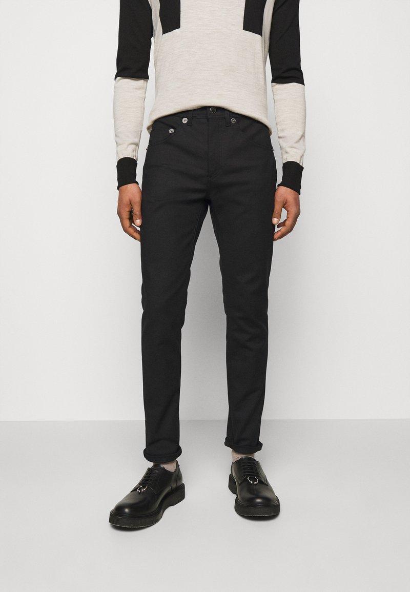 Neil Barrett - SUPER REGULAR RISE  - Jeans Skinny - black