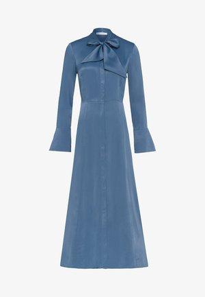 MIT BINDESCHLEIFE - Maxi dress - blue
