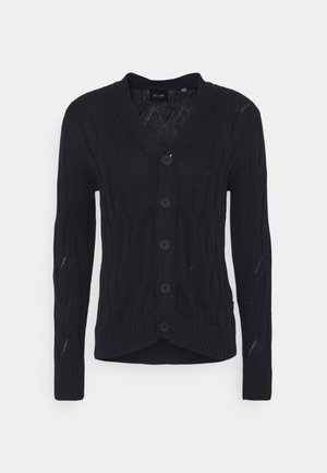 ONSWILLET LIFE CABLE  - Cardigan - dark navy