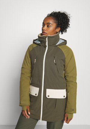 PROWESS - Snowboard jacket - olive
