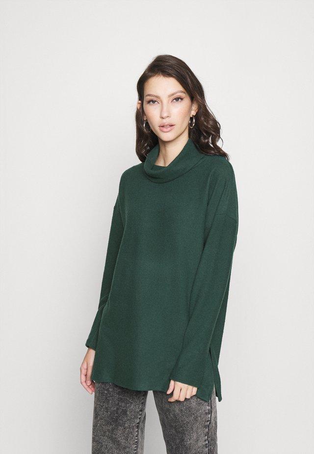BELLA LONGLINE - Jersey de punto - mid green