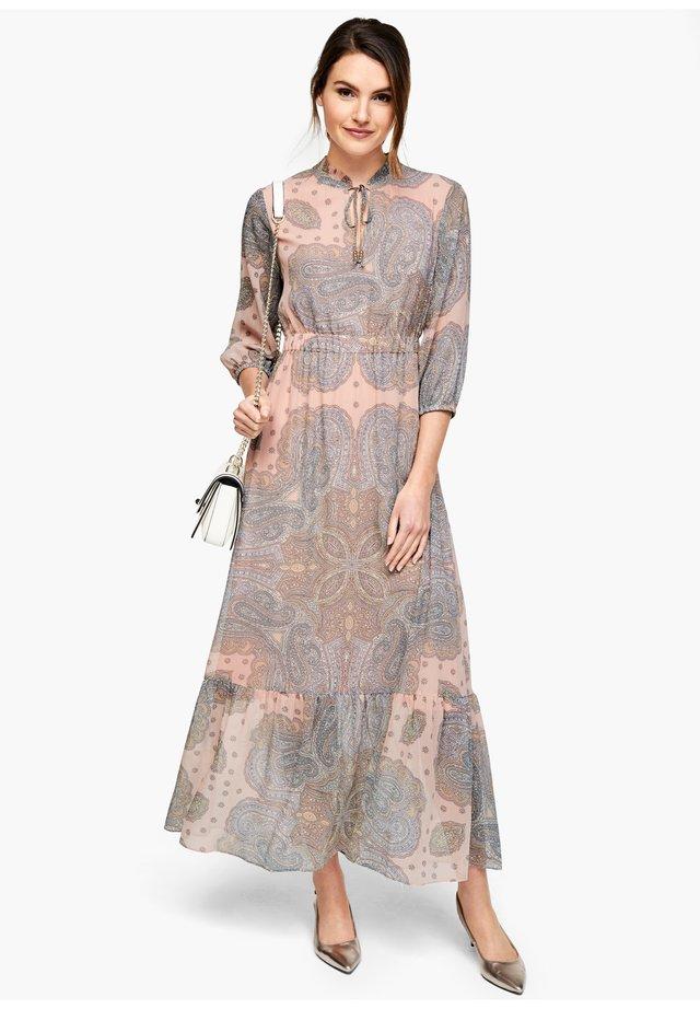 Maxi dress - rose paisley print