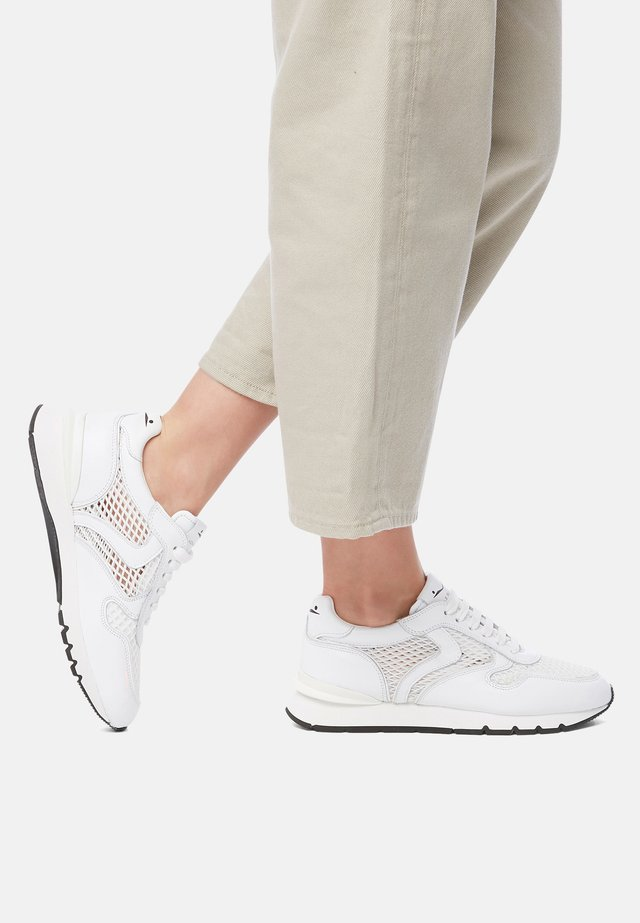 JULIA RACE MESH - Baskets basses - white