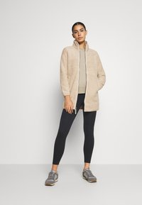 Jack Wolfskin - HIGH CLOUD COAT - Fleecejas - dusty grey