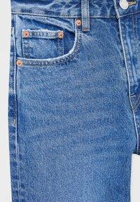PULL&BEAR - Straight leg jeans - dark-blue denim - 6