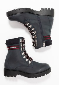 TOM TAILOR DENIM - Lace-up ankle boots - dark blue - 3