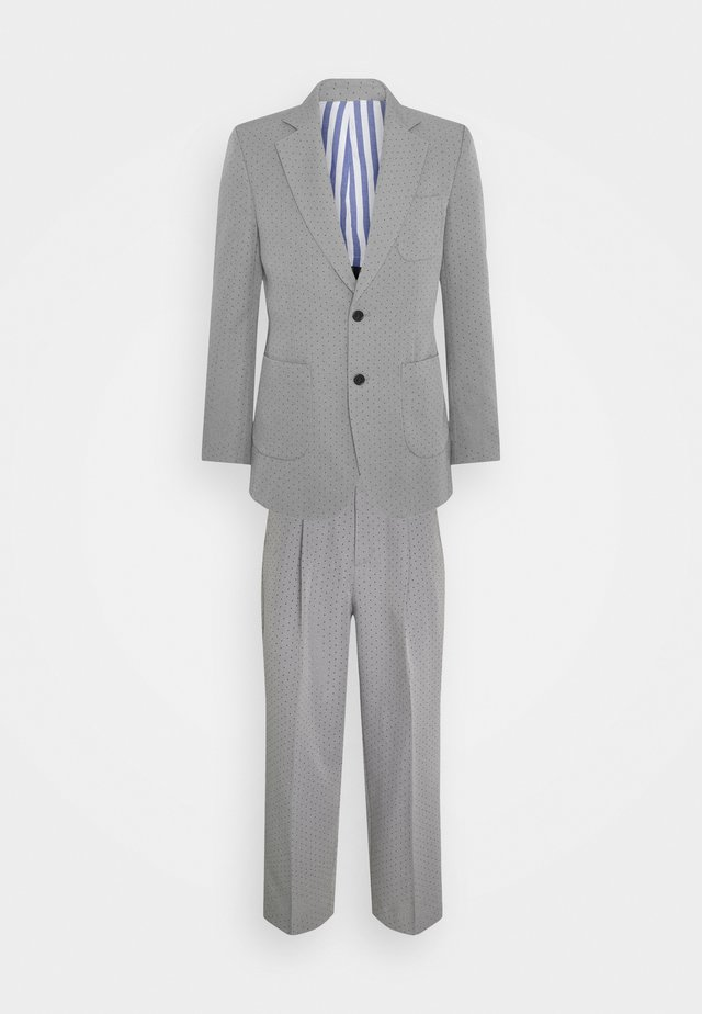 PUNCH HOLE SUIT - Kostuum - grey