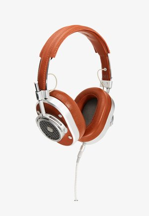 MH40 OVER-EAR - Headphones - brown/silver-coloured