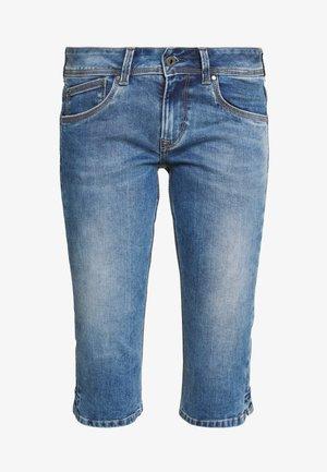 SATURN  - Jeans Short / cowboy shorts - blue denim