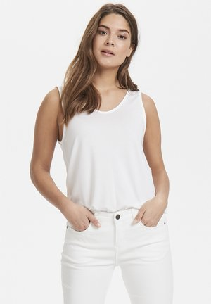 Top - optical white