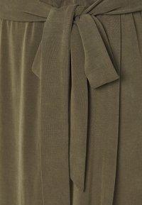 Object Tall - OBJANNIE NADIA DRESS TALL - Maxi dress - forest night - 2
