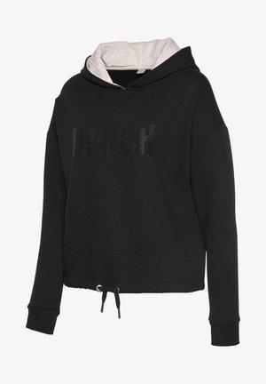 Hoodie - schwarz