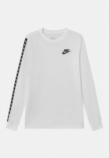 TAPING - Camiseta de manga larga - white