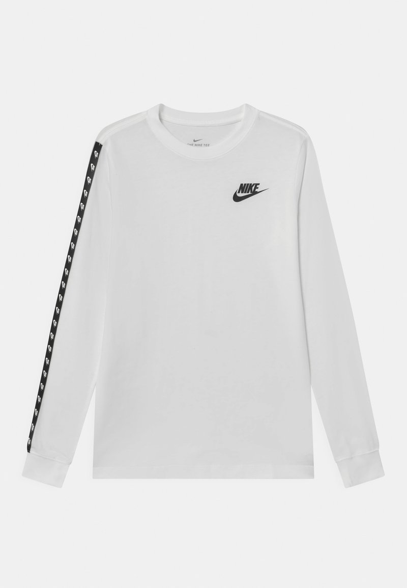 Nike Sportswear - TAPING - Long sleeved top - white