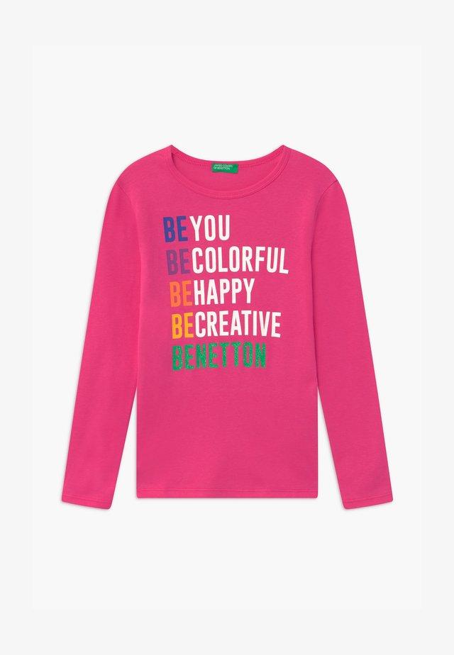BASIC GIRL - Pitkähihainen paita - pink