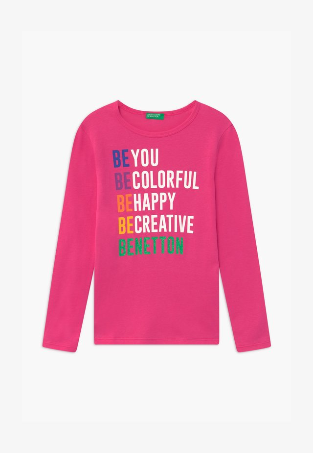 BASIC GIRL - Long sleeved top - pink