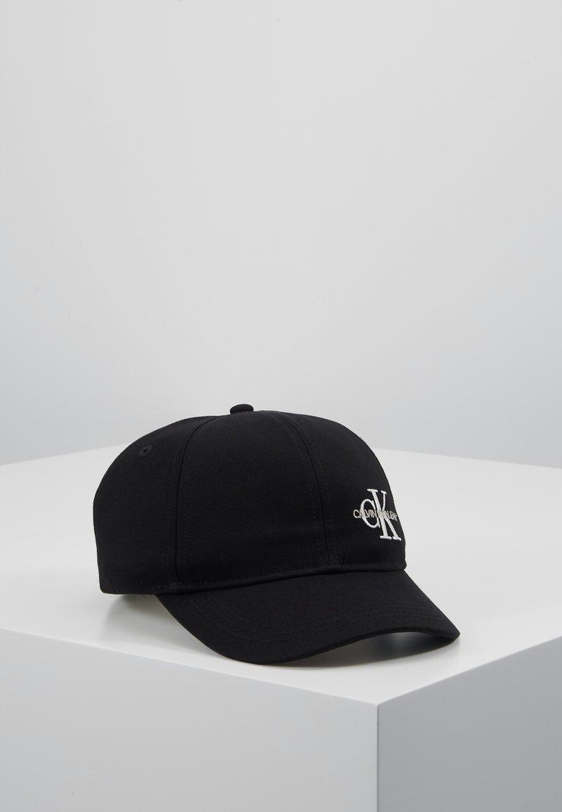 Calvin Klein Jeans - MONOGRAM BASEBALL - Lippalakki - black