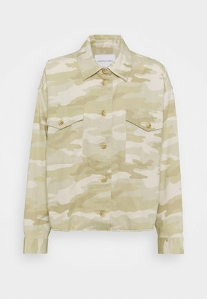 CORE MILITARY SHACKET - Button-down blouse - brown
