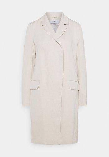 TINA - Klasický kabát - shiitake