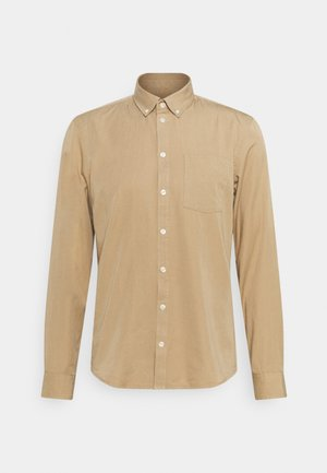 ANTON GARMENT DYED SHIRT - Shirt - incense