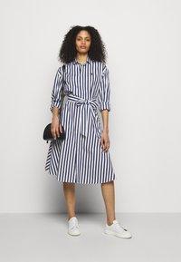 Polo Ralph Lauren - Shirt dress - navy/white - 1