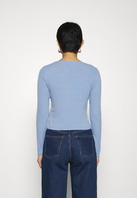 Dorothy Perkins - BUTTON THROUGH CARDIGAN - Cardigan - blue - 2