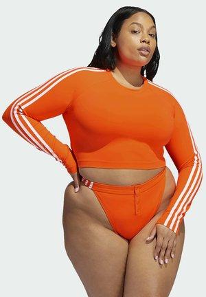 RASHGUARD LONGSLEEVE - Bikini top - orange