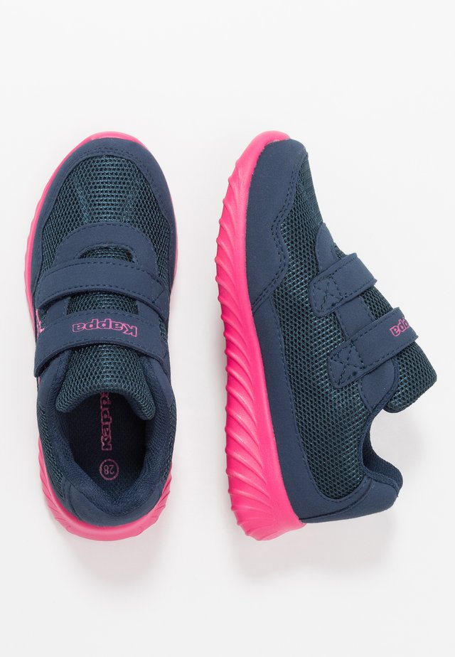 CRACKER II  - Sports shoes - navy/pink