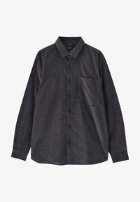 PULL&BEAR - Camicia - mottled dark grey - 5